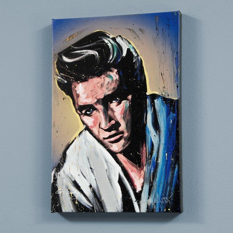 """Elvis Presley (Blue Suede)"" LIMITED EDITION Giclee on"