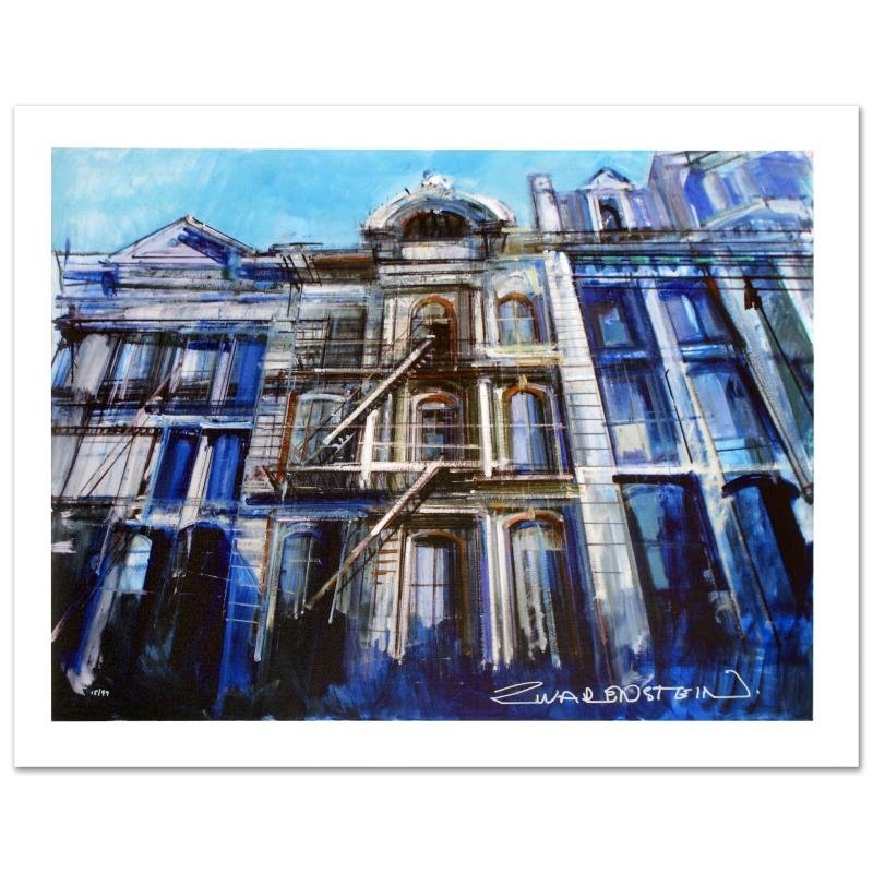 """Soho Iron Flats"" Limited Edition Giclee on Canvas by"