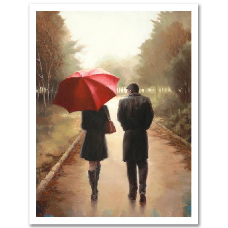 """First Walk"" Limited Edition Giclee on Canvas by Daniel"