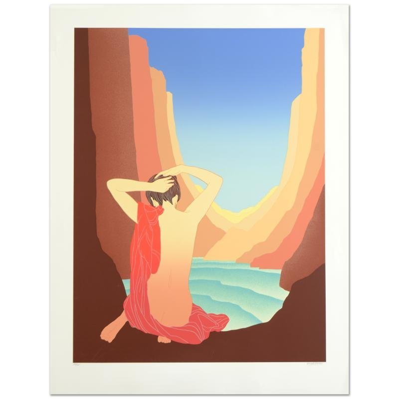"""Lady of the Canyon"" Limited Edition Serigraph (37"" x"