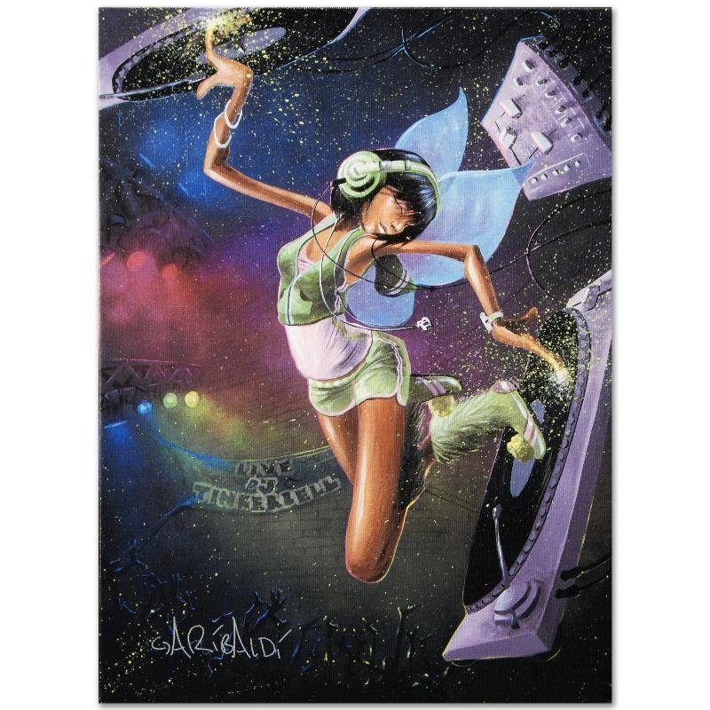 """Tinkerbell"" LIMITED EDITION Giclee on Canvas by David - 3"