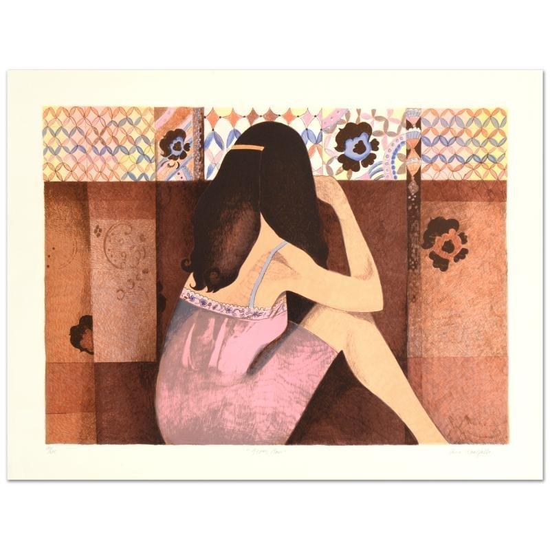 "Ann Woolfolk - ""Gypsy Rose"" Limited Edition Lithograph,"