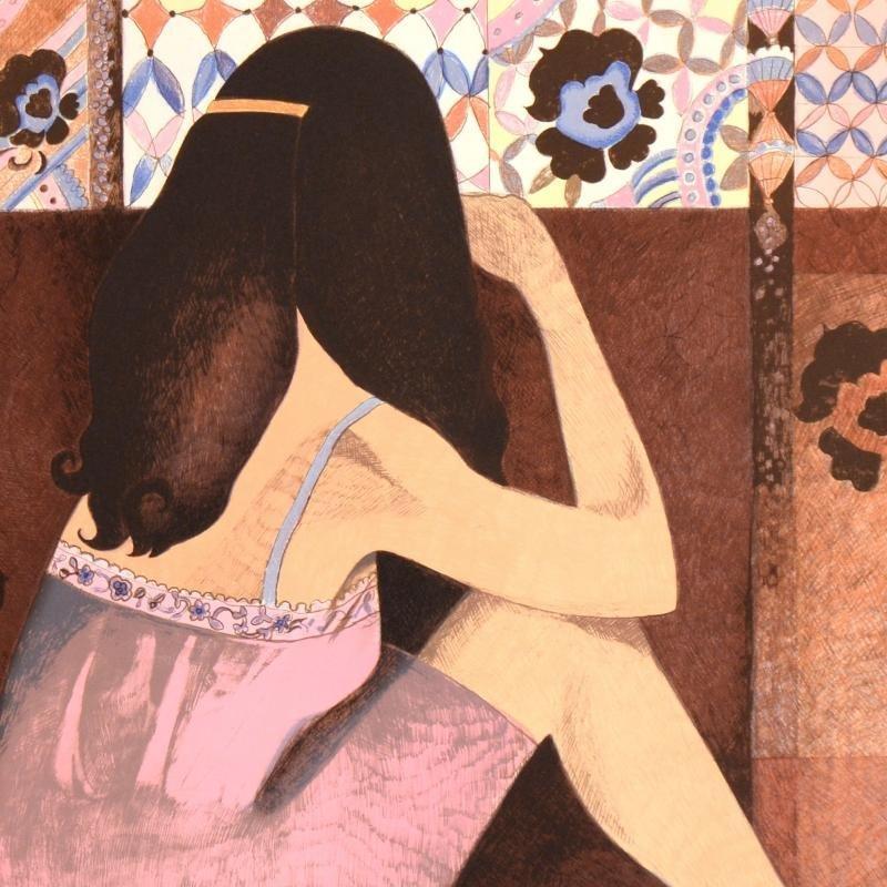 "Ann Woolfolk - ""Gypsy Rose"" Limited Edition Lithograph, - 2"