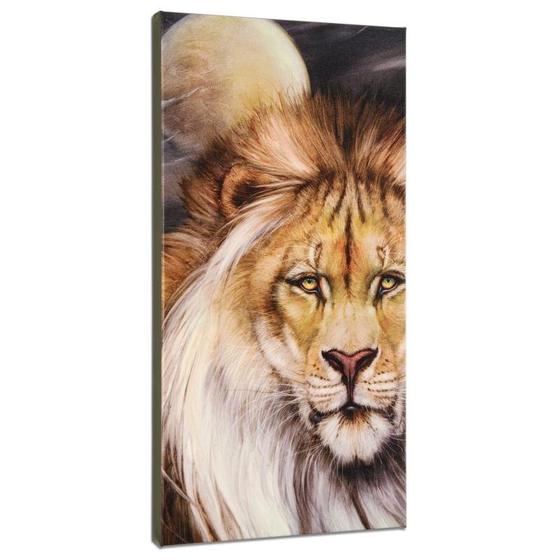 Leo Moon Limited Edition Giclee on Gallery Wrapped