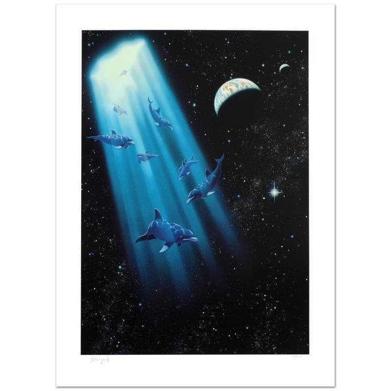 Conception Limited Edition Giclee by William Schimmel,
