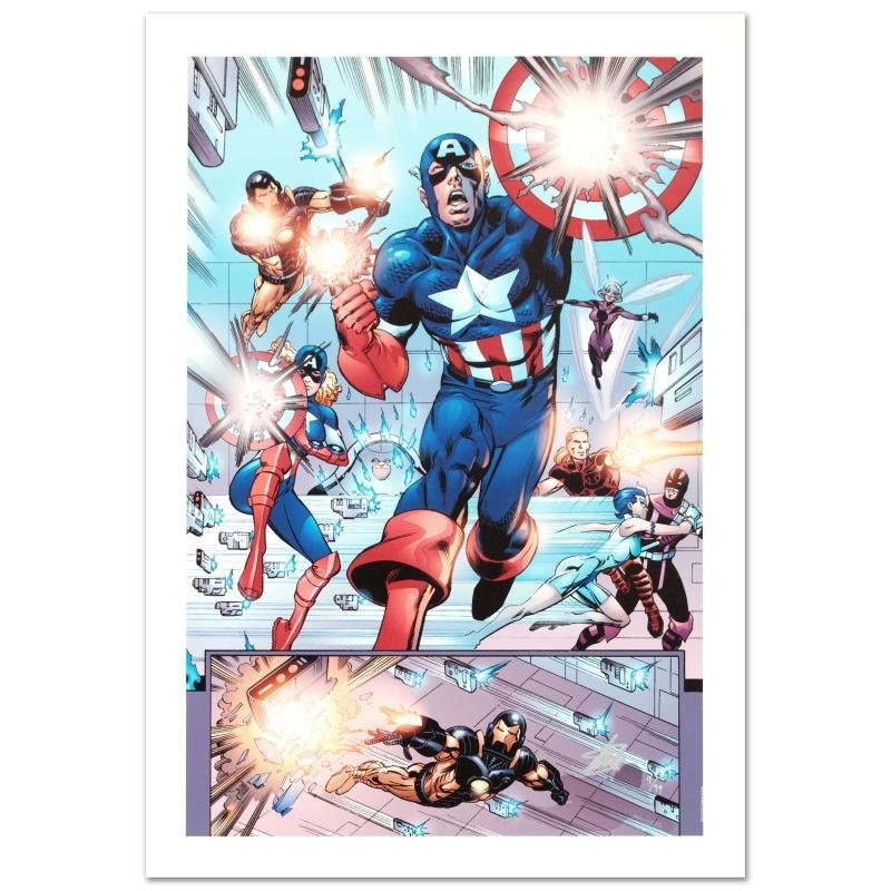 """""""Last Hero Standing #1"""" Limited Edition Giclee on"""