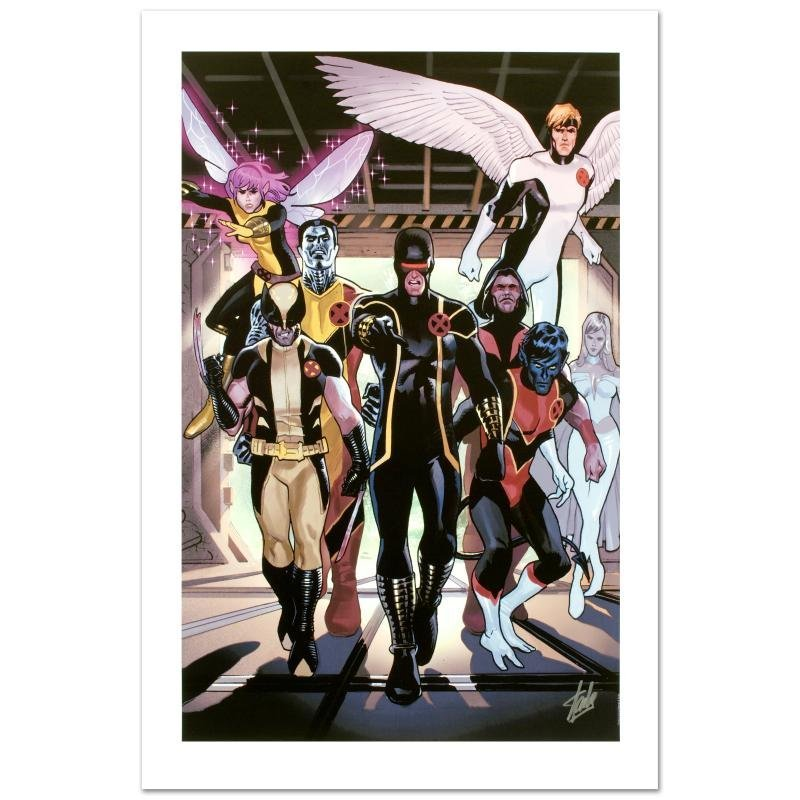 """""""X-Men Legacy Annual #1"""" Limited Edition Giclee on"""