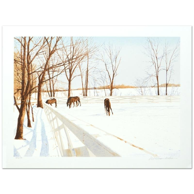 """William Nelson - """"Winter Pasture"""" Limited Edition"""