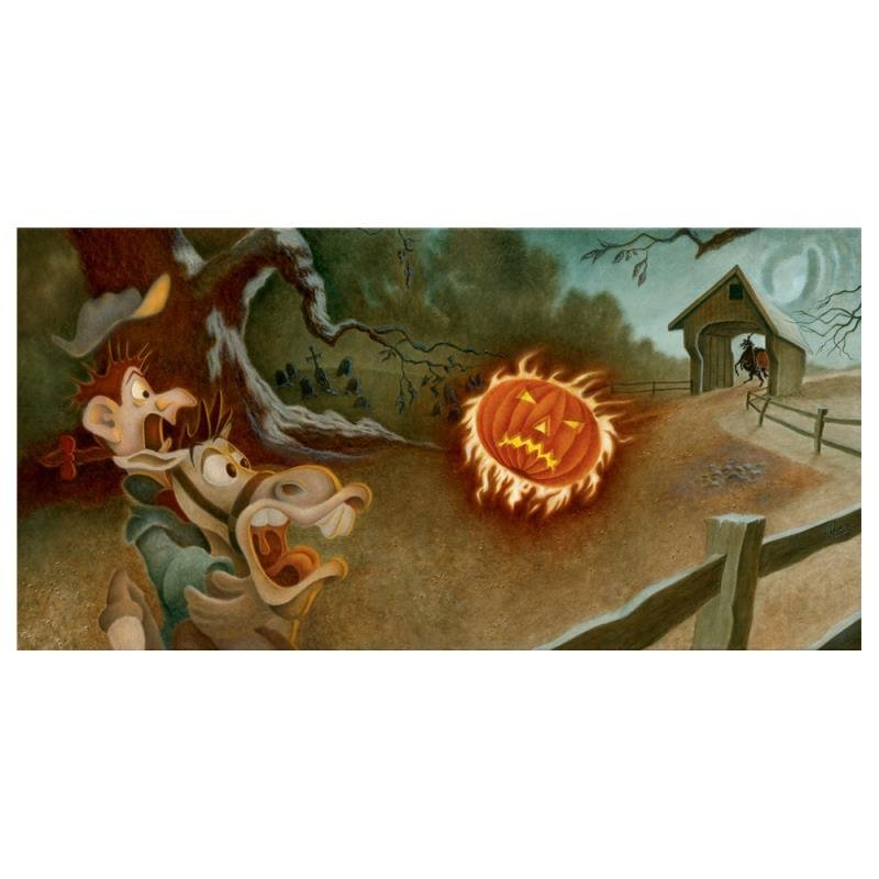 "Mike Kupka - ""Sleepy Hollow"" Limited Edition Giclee on"