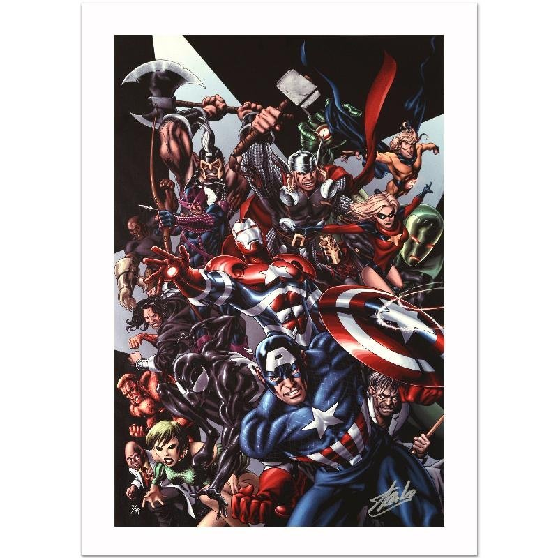 """""""Avengers Assemble #1"""" Limited Edition Giclee on Canvas"""