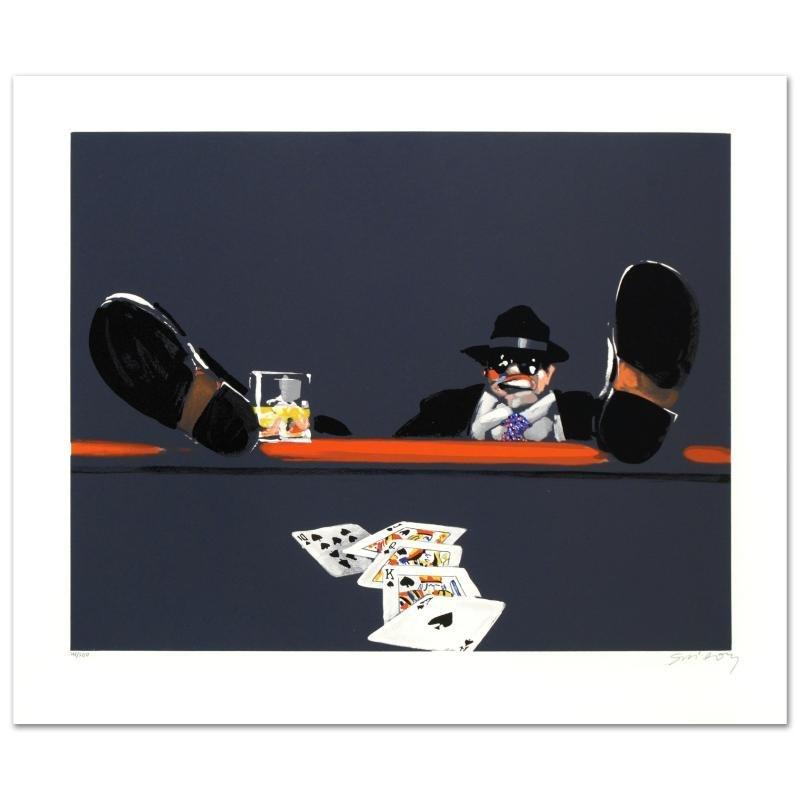 """Royal Flush"" Limited Edition Lithograph by Waldemar"