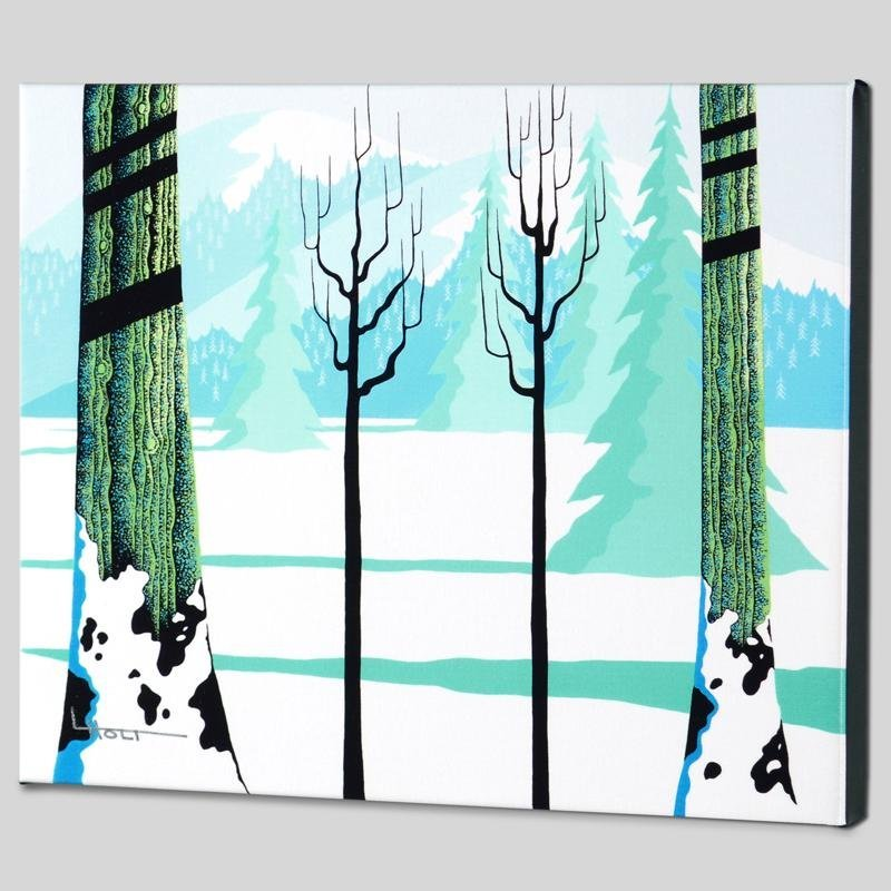 """Winter"" Limited Edition Giclee on Canvas by Larissa"