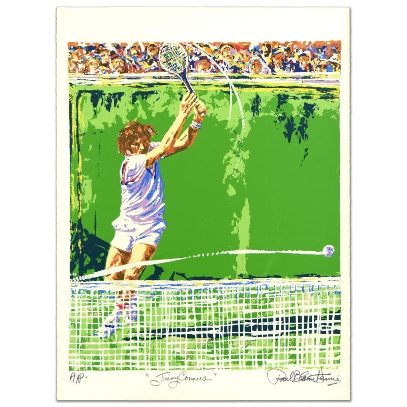 """""""Jimmy Conners (Tennis)"""" Limited Edition Serigraph by"""
