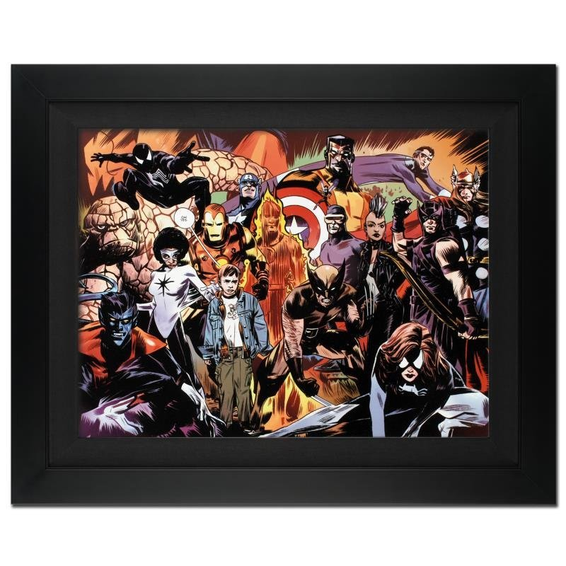 """""""Marvel 1985 #6"""" Extremely Limited Edition Giclee on"""