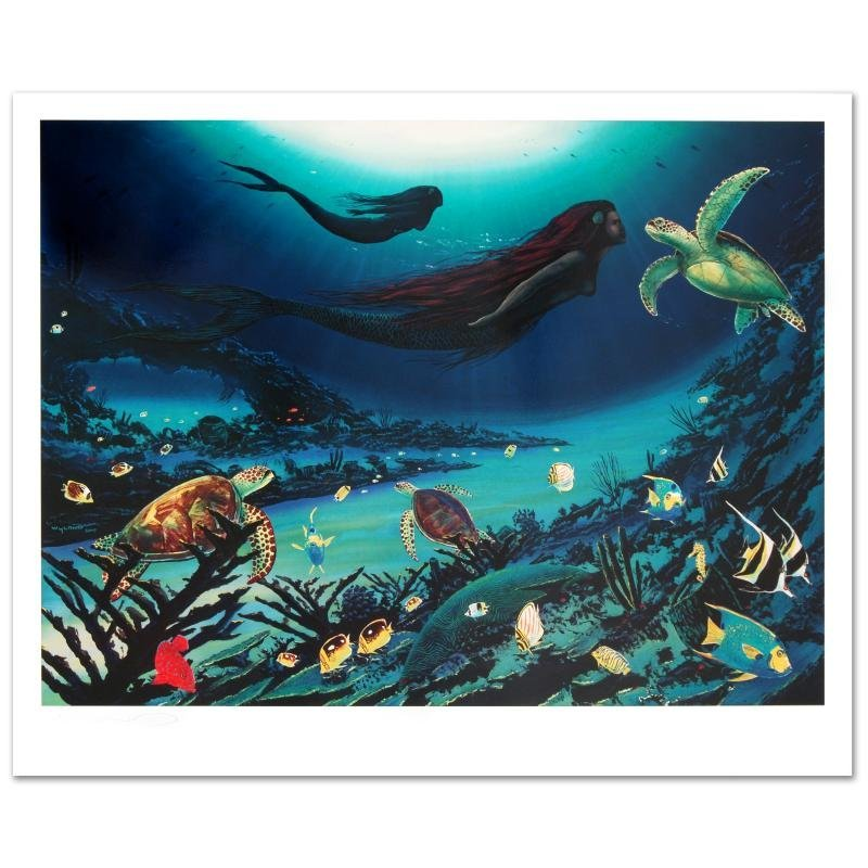 """""""Sirens of the Sea"""" LIMITED EDITION Lithograph by"""