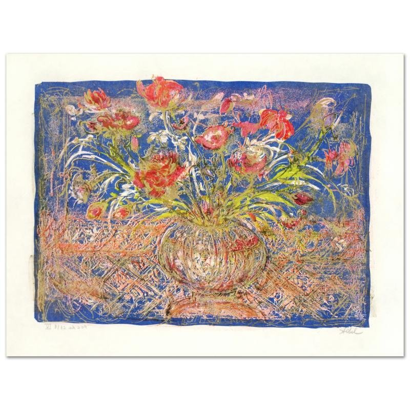 """""""Illusion"""" Limited Edition Lithograph by Edna Hibel"""