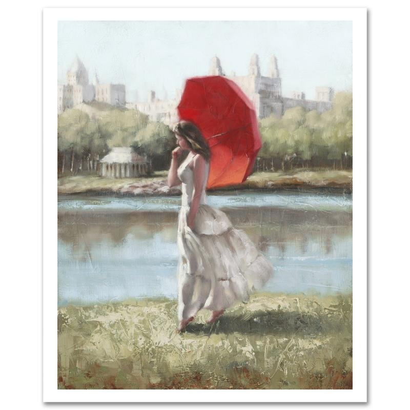 """Central Park Serenity"" Limited Edition Giclee on"