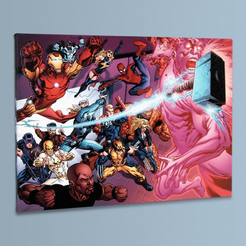 """Avengers Academy #11"" LIMITED EDITION Giclee on Canvas"