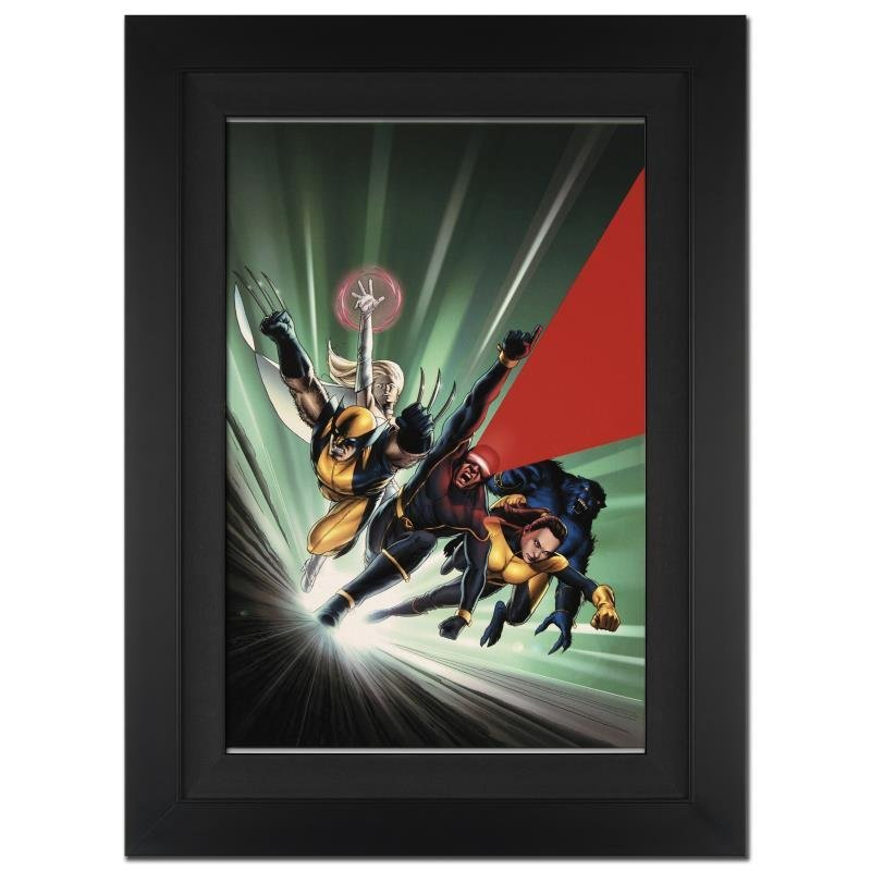 """Astonishing X-Men #1"" Ltd Ed Giclee on Canvas by John"