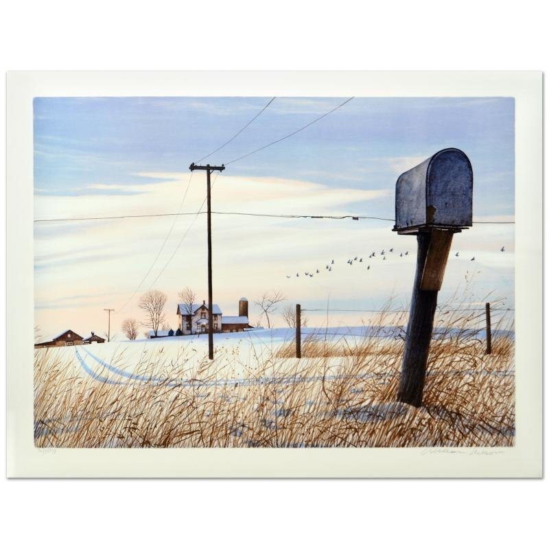 """William Nelson - """"Rural Free Delivery"""" Limited Edition"""