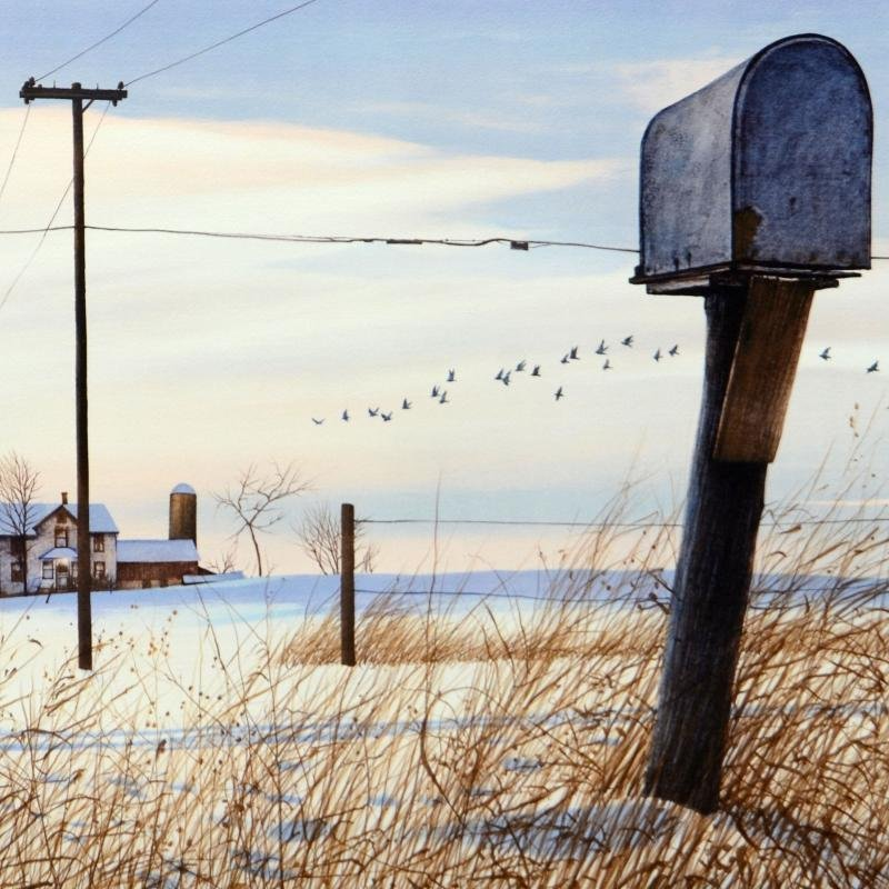 """William Nelson - """"Rural Free Delivery"""" Limited Edition - 2"""