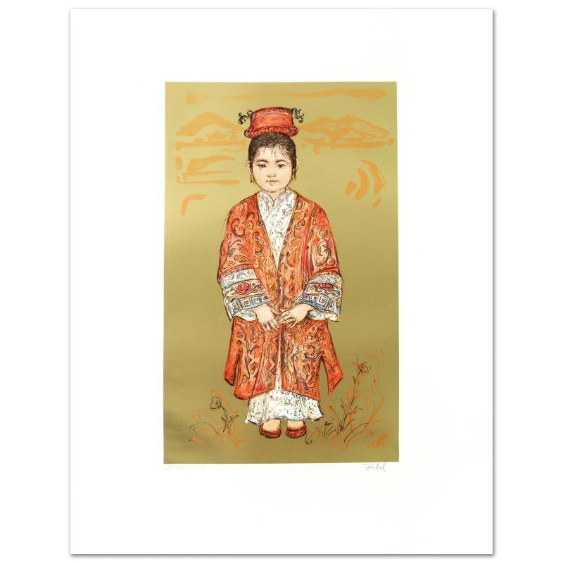 """Sun Ming Tsai of Beijing"" Limited Edition Lithograph"