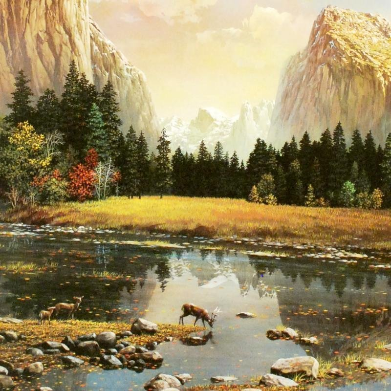 """Yosemite Splendor"" Limited Edition Lithograph by - 2"