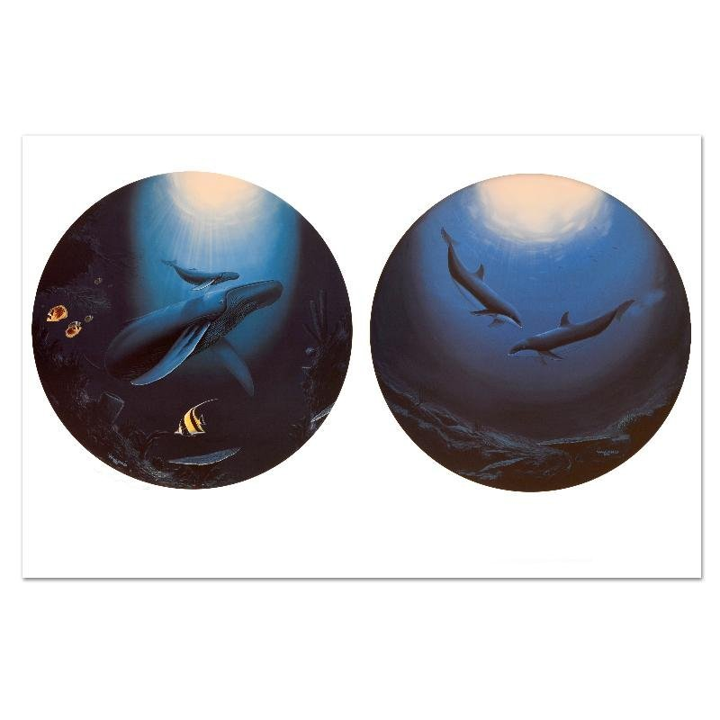 """""""Innocent Age / Dolphin Serenity"""" Limited Edition"""