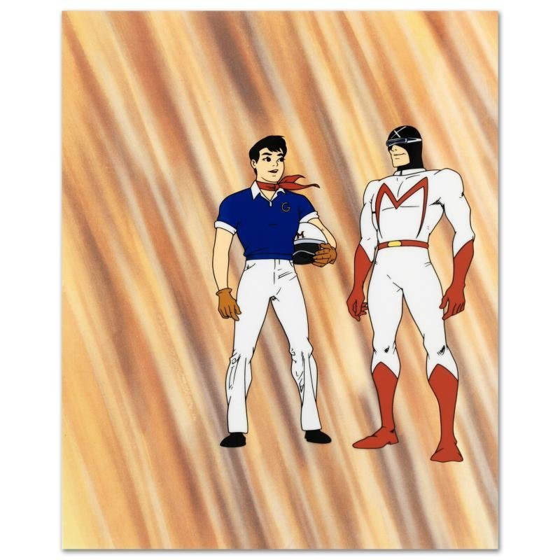 """""""Speed Racer and Racer X"""" Limited Edition Sericel,"""