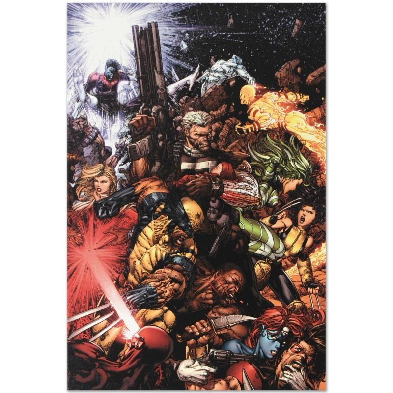 """X-Men #207 (Messiah CompleX)"" Limited Edition Giclee - 3"