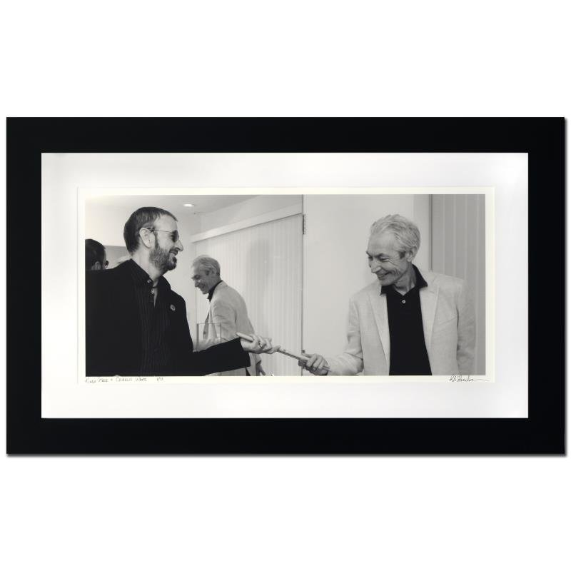 """Ringo Starr & Charlie Watts"" Limited Edition Giclee by"