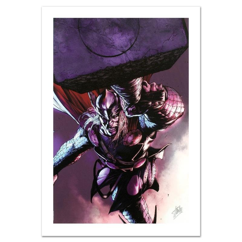 """Thor #7"" Limited Edition Giclee on Canvas by Marko"