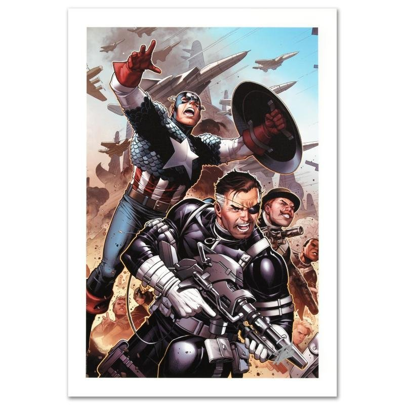 """Secret Warriors #18"" Limited Edition Giclee on Canvas"