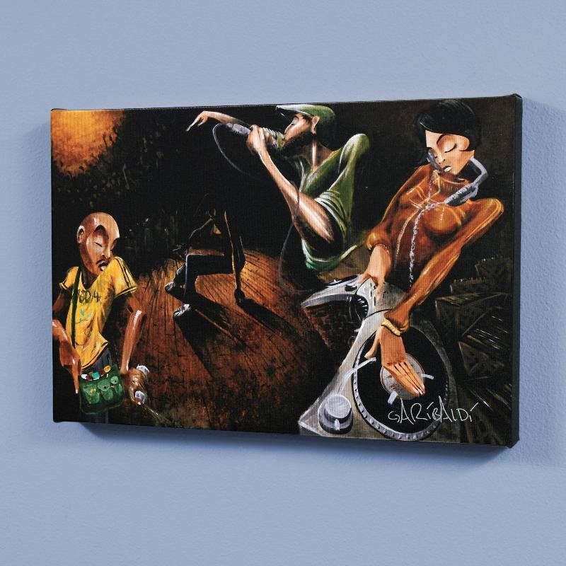 """The Get Down"" LIMITED EDITION Giclee on Canvas by"