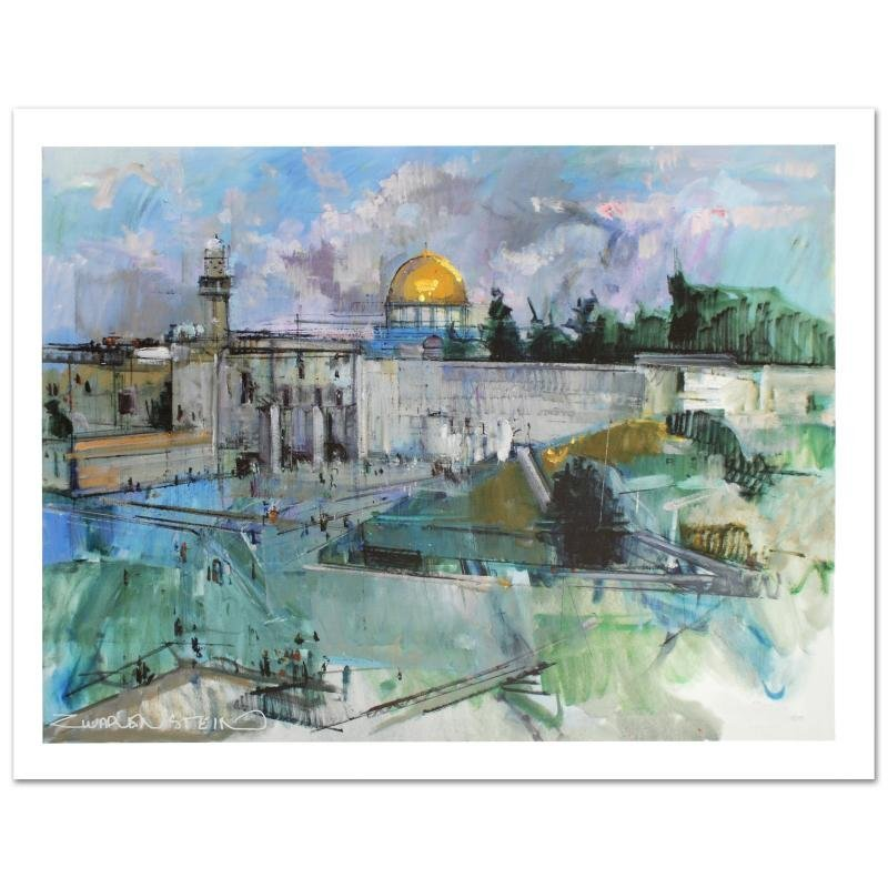 """Jerusalem"" Limited Edition Giclee on Canvas (40"" x"