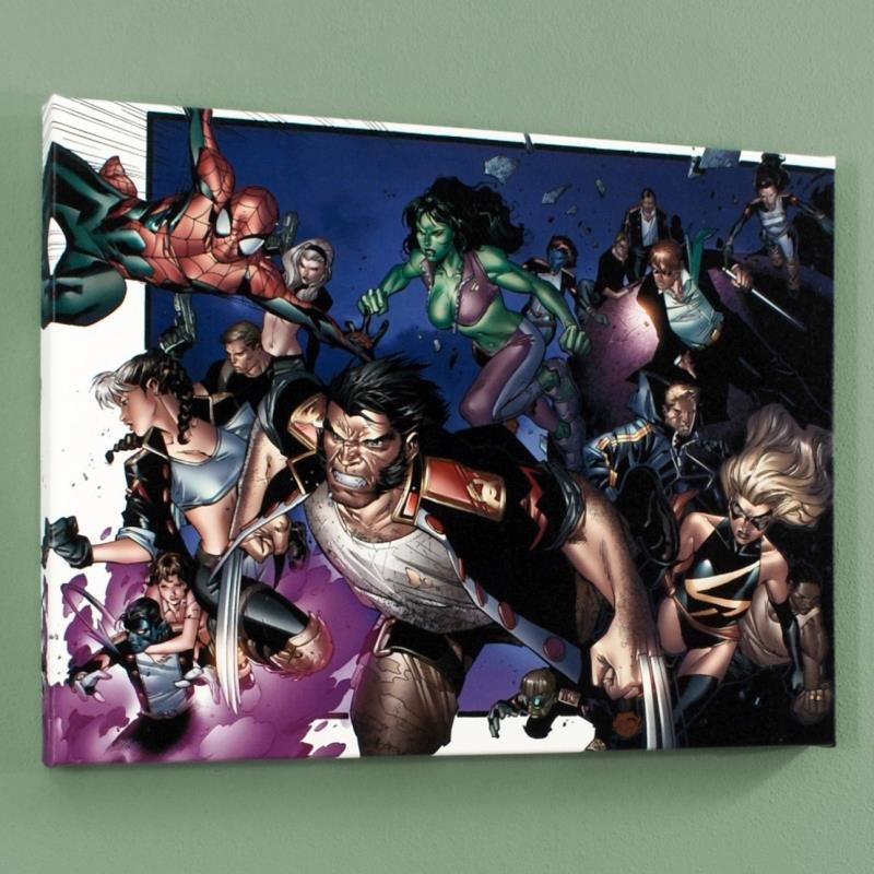 House of M #6 Limited Edition Giclee on Canvas by
