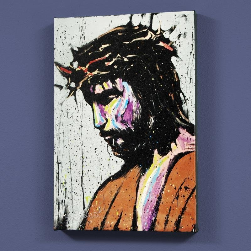 """Jesus"" LIMITED EDITION Giclee on Canvas (30"" x 40"") by"