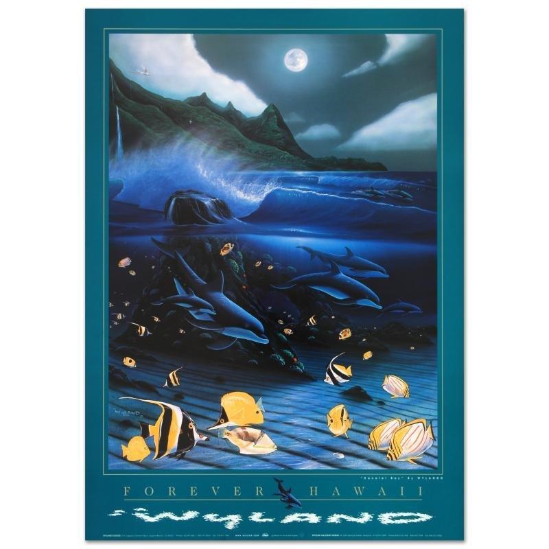 """Hanalei Bay"" Poster by Wyland!."