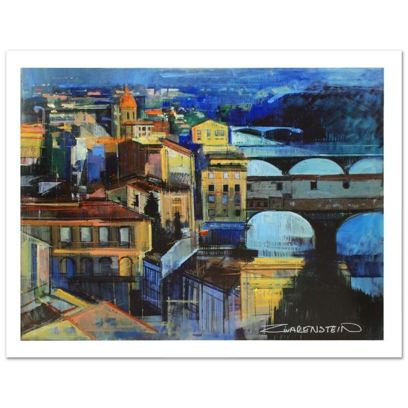 """""""Florence at Sundown"""" Limited Edition Giclee (40"""" x"""