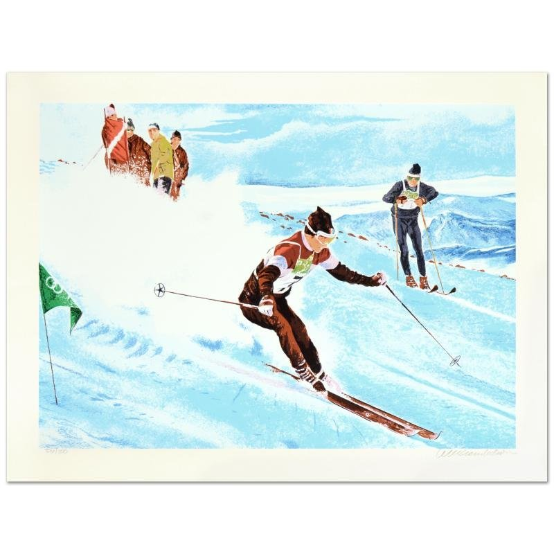 "William Nelson - ""Olympic Skier"" Limited Edition"