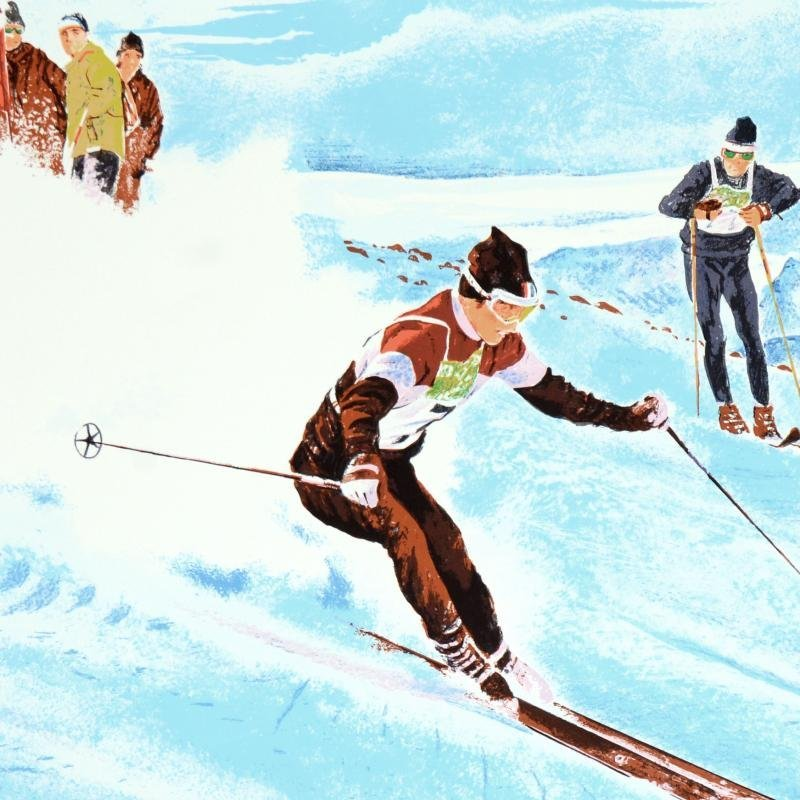 "William Nelson - ""Olympic Skier"" Limited Edition - 2"