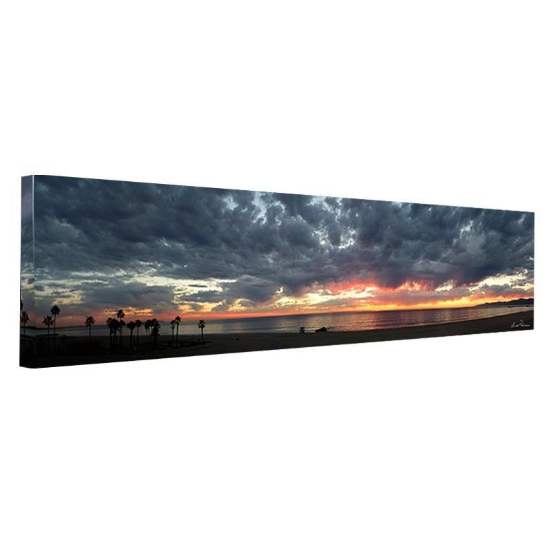 """""""Playa del Rey Sunset"""" is a limited edition giclee on"""
