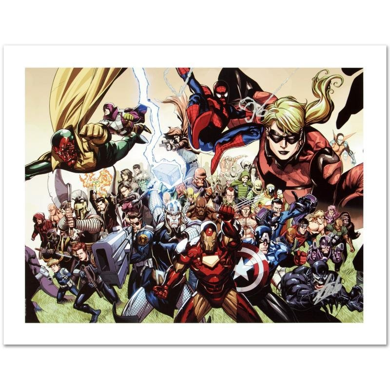 """""""Secret Invasion #6"""" Limited Edition Giclee on Canvas"""