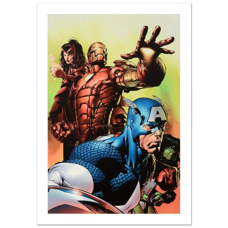 """""""Avengers #501"""" Limited Edition Giclee on Canvas by"""
