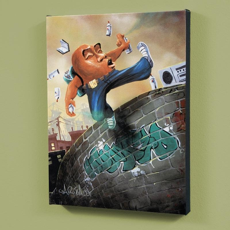 """""""Humpty Dumpty"""" LIMITED EDITION Giclee on Canvas (27"""" x"""