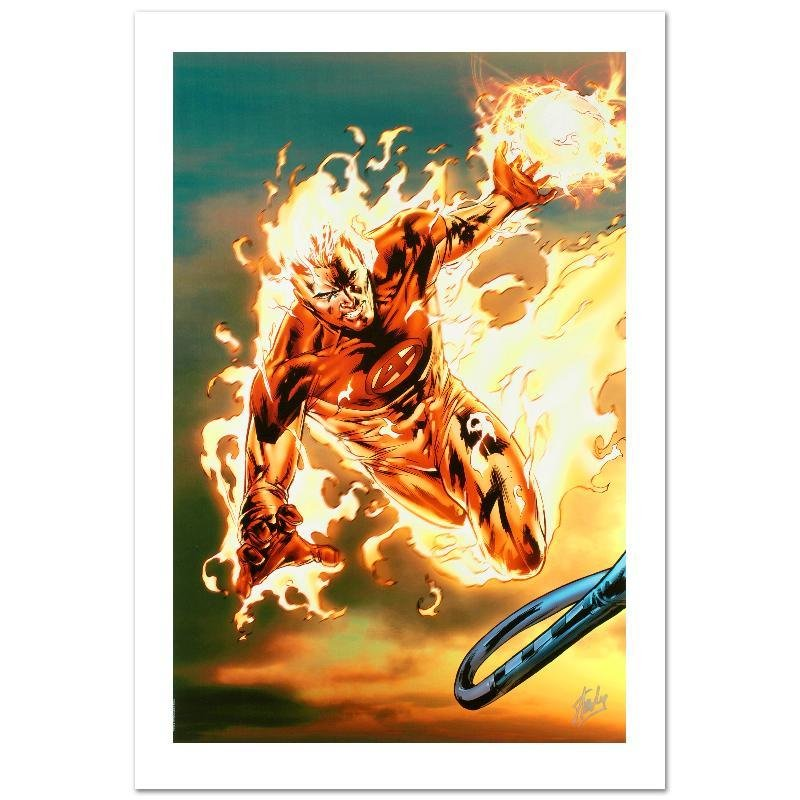 """""""Ultimate Fantastic Four #54"""" Limited Edition Giclee on"""