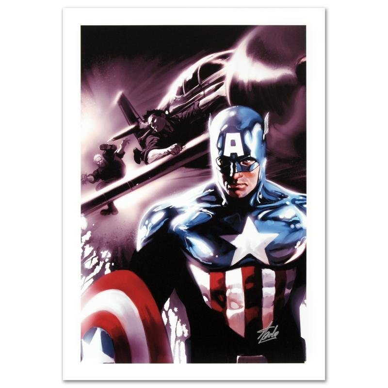 """""""Captain America #609"""" Limited Edition Giclee on Canvas"""