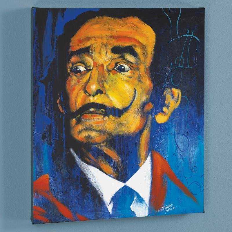 """""""Dali"""" LIMITED EDITION Giclee on Canvas by Stephen"""