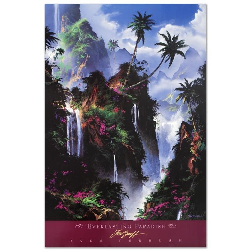 """Everlasting Paradise"" Poster (1996) by Dale Terbush."