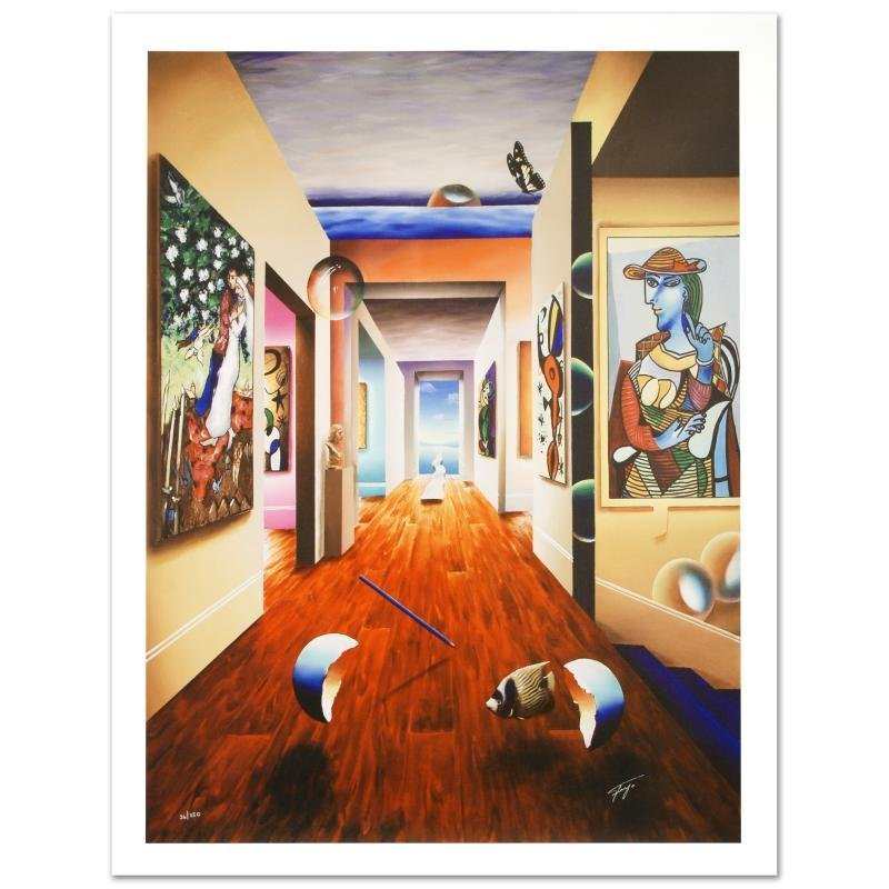 """""""Theresa and 3 Candles"""" Limited Edition Giclee on"""